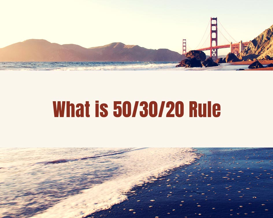 50/30/20 rule