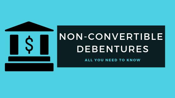 Non convertible Debenture