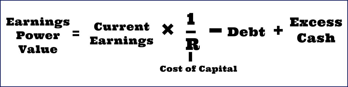 Earnings Power Value